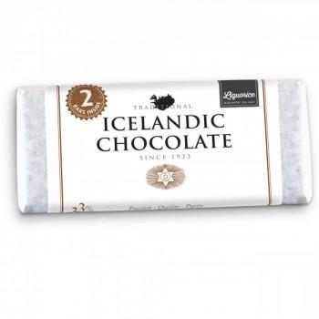 Icelandic Chocolate mit Rohlakritz & Meersalz (2 x 100 Gramm)