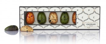 dänische gefüllte Schokoladen-Eier, 6er Pack