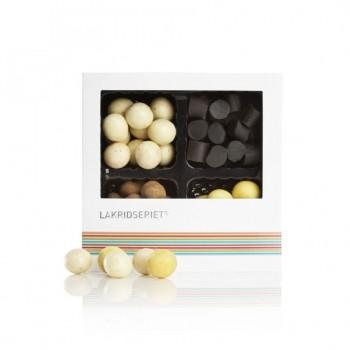 Lakritz-Geschenkschachtel aus Dänemark, 4fach sortiert