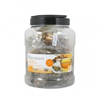 AKTION Revolution Tee - Citrus Spice Herbal Tea - 60 Teebeutel Großpackung - koffeinfrei