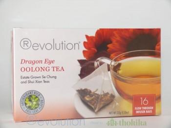 MHD 08-2019 /Revolution Tee - Dragon Eye - Oolong Tea mit Ingwer, Pfirsich- und Aprikosengeschmack