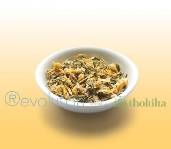 "Revolution Tee - Golden Chamomile Herbal Tea - Gastro ""foliert"" - Koffeinfrei"