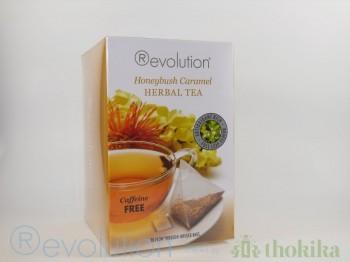 """MHD 10-2018 / Revolution Tee - Honeybush Caramel Tea - Gastro """"foliert"""" *Koffeinfrei*"""