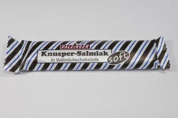 Knusper-Salmiak in Vollmilchschokolade, soft, von Salzinger aus Deutschland