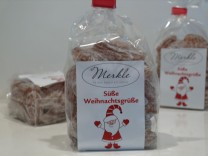 MHD 10/2017 - süße Weihnachtsgrüße, Apfel & Mandel-Bonbons