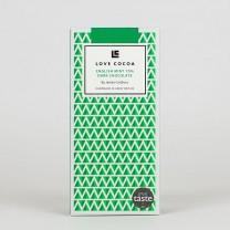 LOVE COCOA - 70 % - Mint Edelbitter Schokolade, organic, vegan