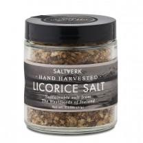 SALTVERK LAKRITZSALZ, flaky sea salt with liquorice