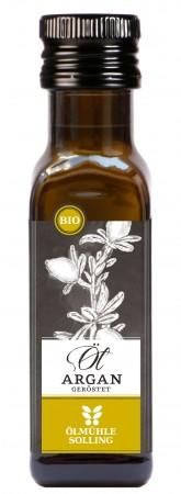 Bio Arganöl geröstet 0,1 Liter Ölmühle Solling