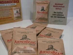 5 Pckg. AirmenBeans - Kaffee-Guarana-Pastillen