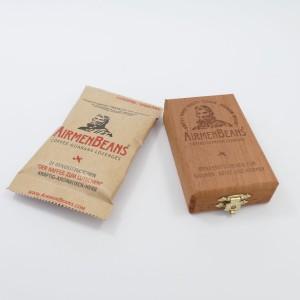 AirmenBeans  Zedern-Holzkisterl und 1 Packung AirmenBeans
