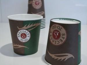 Coffee/Espresso to go Becher, 100ml (80 Stück)