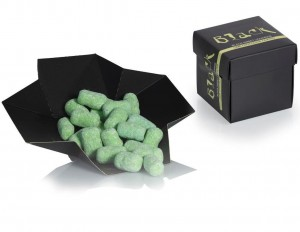 weiche Lakritz - Black Sweet Liquorice with lime chocolate & Chili  Box