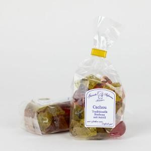 Cachou, traditionelle Bonbons mit Anisöl, Anisbonbon