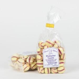 Rhabarber-Vanille-Bonbons, zuckerfreie Bonbons