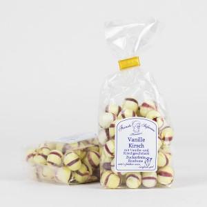 Vanille-Kirsch-Bonbons, zuckerfreie Bonbons