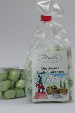 Bremer Stadtmusikanten Bonbons, Waldmeisterbrause & Vanille