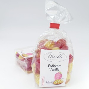 - zuckerfrei - Bonbons Erdbeere Vanille