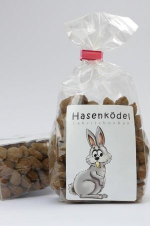 """""""Hasenködel"""" Lakritz-Bonbons"""