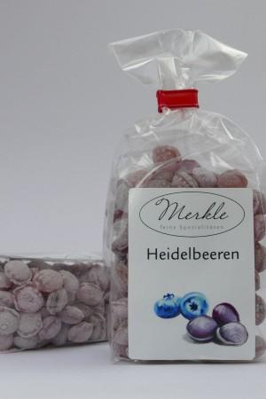 Heidelbeeren, kleine Heidelbeer-Bonbons