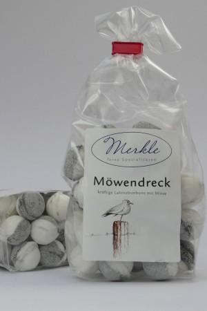 MHD 10/2018 - Möwendreck, kräftige Lakritz-Bonbons mit Minze