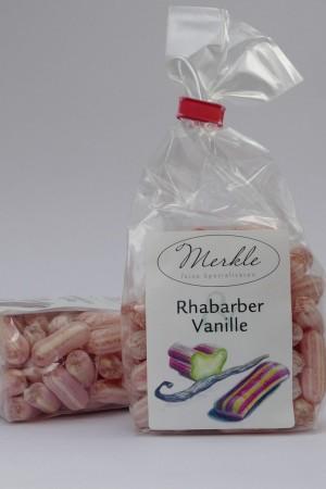 Rhabarber-Vanille-Bonbons