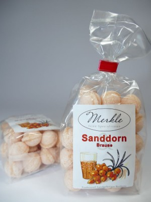 Sanddorn-Brausebonbons