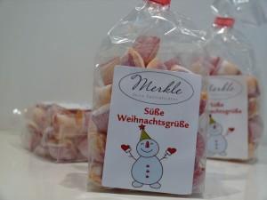 süße Weihnachtsgrüße, Winterpunsch-Bonbons