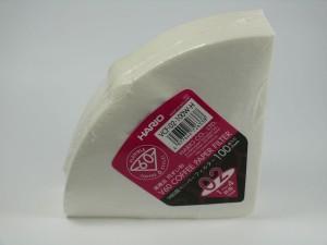 HARIO Papierfilter weiß für V60-02, 100 Stück, VCF-02-100W-H, EU