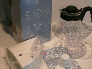HARIO Pour over KIT V60, VCSD-02-EX -limited edition