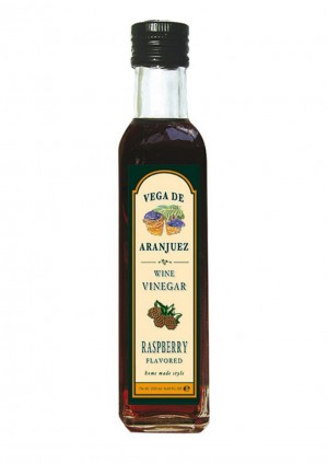 Aroma-Essig mit Himbeere aromatisiert