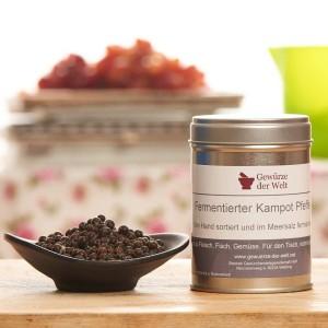 fermentierter Kampot Pfeffer - große Aromadose