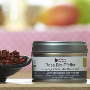 Rosa Pfeffer, BIO (Schinusbeere) - kleine Aromadose