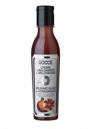 Balsamicocreme mit Granatapfel aromatisiert, al Melograno