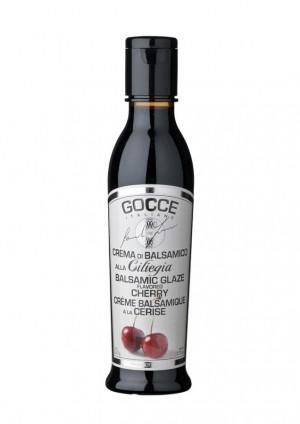Balsamicocreme mit Kirsche aromatisiert, alla ciliegia