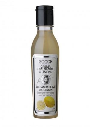 Balsamicocreme mit Zitrone aromatisiert, al Limone