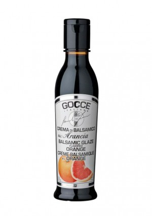 Balsamicocreme mit Orange aromatisiert, all´arancia