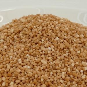 NIC crunchy Salzkaramel / salted caramel pearls, 200 Gramm