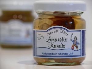 Amaretto Kandis - Von der Küste - 50 Gramm