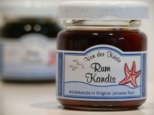 brauner Rum Kandis - Von der Küste - 50 Gramm