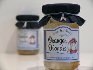 Orangen Kandis - Von der Küste - 125 Gramm