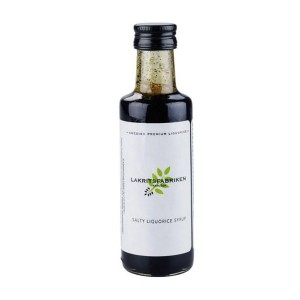 """Salzlakritzsirup """"salty"""" von Lakritzfabriken aus Schweden"""