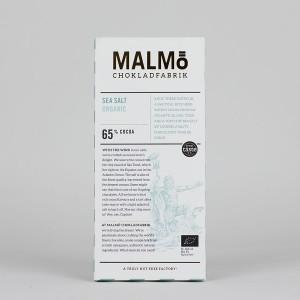 MALMÖ - 65 % - Sea Salt Dark Chocolade, organic