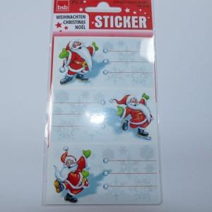 Weihnachtssticker für Marmeladengläser / Keksgläser