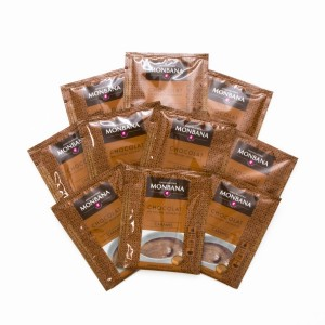 MONBANA-Trinkschokolade - Sorte Karamell - 10er Set