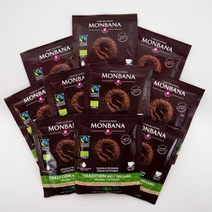 MONBANA-Trinkschokolade - BIO & Fairtraide - 10er Set