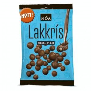 NÓA aus Island, Milchschokolade mit Karamell-Lakritzfüllung, Noi Sirius