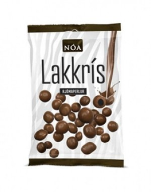 NÓA aus Island, Milchschokolade mit Lakritzfüllung, Noi Sirius