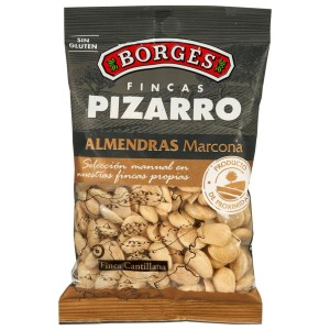 Pizarro Almendra Marcona - Marcona Mandeln mit Meersalz - 200 Gramm