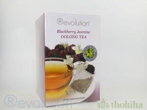"MHD 04/2019 -Revolution Tee - Blackberry Jasmine Oolong Tea - mit Jasminblüten und Brombeergeschmack - Gastro ""foliert"""