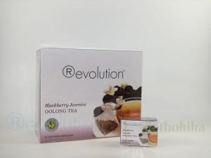 Revolution Tee - Blackberry Jasmine Oolong Tea - mit Jasminblüten und Brombeergeschmack - Gastronomiepackung